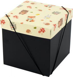 Caixa – Cubo – Bichinhos da floresta