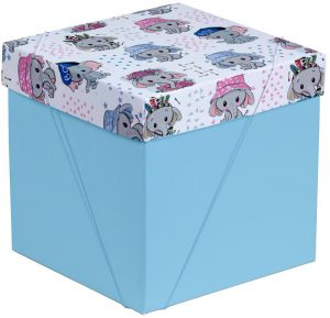 Caixa – Cubo – Elefantinhos