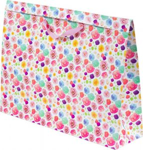 Basic Bag – G – Flores Aquarela