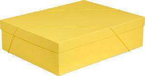 Caixa – G Retangular – Amarelo