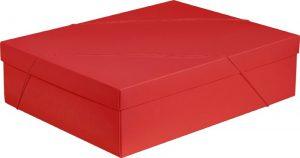 Caixa – G Retangular – Vermelho