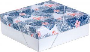 Caixa – M – Flamingo