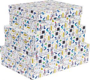 Kit Caixas Rígidas – Retangular – Games