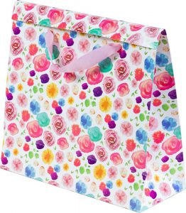 Basic Bag – P – Flores Aquarela