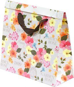Basic Bag – P – Flores Retrô
