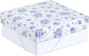 Caixa – P – Rosas Azuis