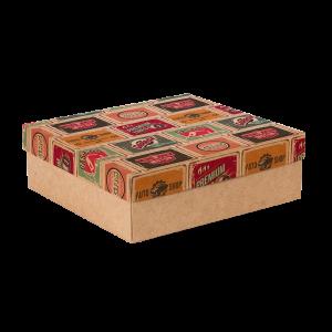 Premium Kraft – Placas Vintage – Caixa tampa e fundo – M
