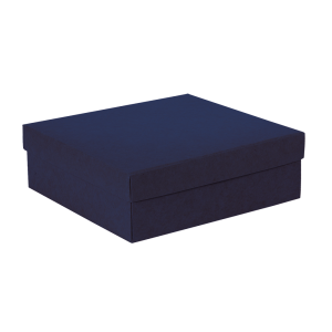 Premium Kraft – Kraft Azul – Caixa tampa e fundo – M