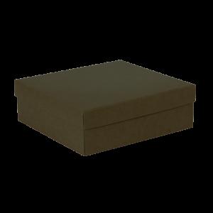 Premium Kraft – Kraft Verde – Caixa tampa e fundo – M