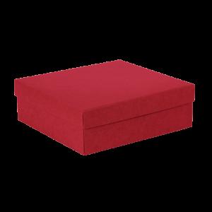 Premium Kraft – Kraft Vermelho – Caixa tampa e fundo – M