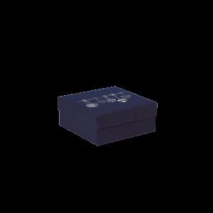 Premium Kraft – Azul Coração – Caixa tampa e fundo – P