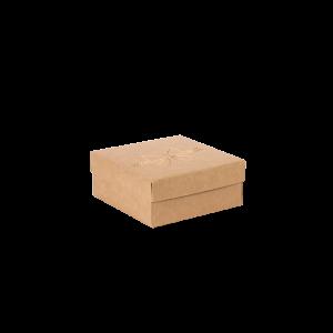 Premium Kraft – Natural Laço – Caixa tampa e fundo – P