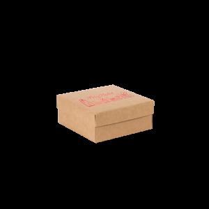 Premium Kraft – Natural Natal – Caixa tampa e fundo – P