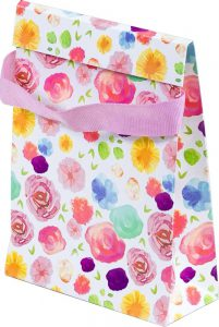 Basic Bag – XP – Flores Aquarela