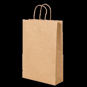 Premium Kraft – Kraft Natural – Sacola com alça papel – P