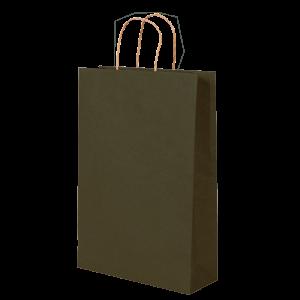 Premium Kraft – Kraft Verde – Sacola com alça papel – P