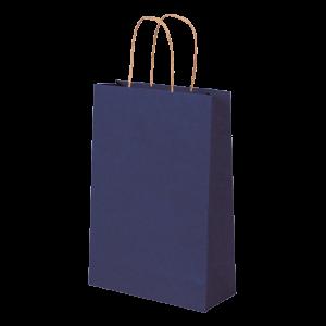 Premium Kraft – Kraft Azul – Sacola com alça papel – PP