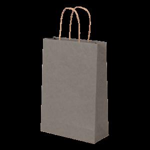 Premium Kraft – Kraft Cinza – Sacola com alça papel – PP