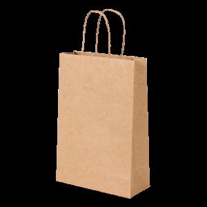 Premium Kraft – Kraft Natural – Sacola com alça papel – PP