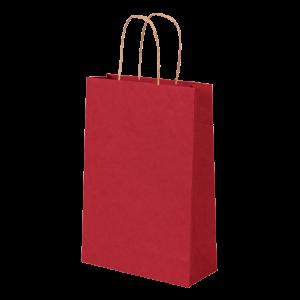 Premium Kraft – Kraft Vermelho – Sacola com alça papel – PP