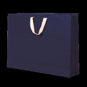 Premium Kraft – Kraft Azul – Sacola com alça algodão – G
