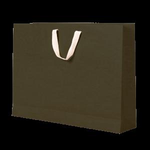 Premium Kraft – Kraft Verde – Sacola com alça algodão – G