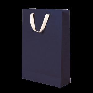 Premium Kraft – Kraft Azul – Sacola com alça algodão – M
