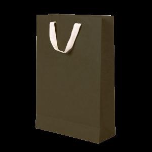 Premium Kraft – Kraft Verde – Sacola com alça algodão – M