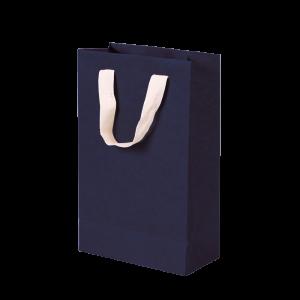 Premium Kraft – Kraft Azul – Sacola com alça algodão – P