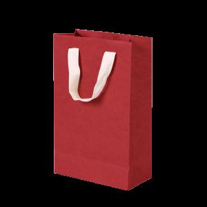 Premium Kraft – Kraft Vermelho- Sacola com alça algodão – P