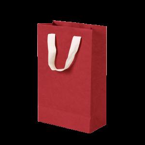 Premium Kraft – Kraft Vermelho – Sacola com alça algodão – PP