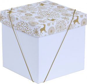 Caixa – Cubo – Natal Gold