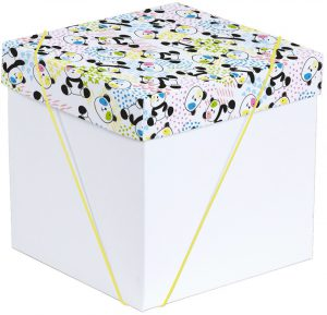 Caixa – Cubo – Panda