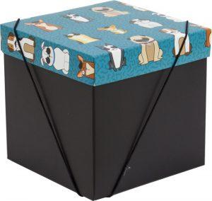 Caixa – Cubo – Cachorrinhos
