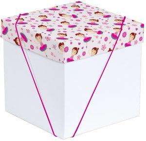 Caixa – Cubo – Bailarina