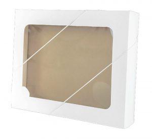 Caixa com visor – M – Branca