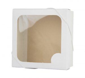 Caixa com visor – P – Branca