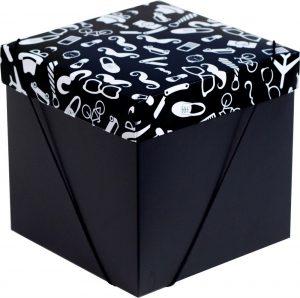 Caixa – Cubo – Blackmen