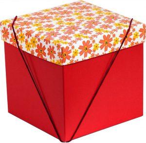 Caixa – Cubo – Flores Garden