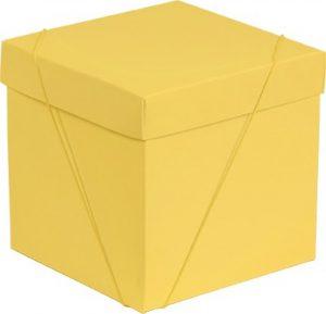 Caixa – Cubo – Amarelo