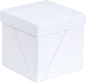 Caixa – Cubo – Branca