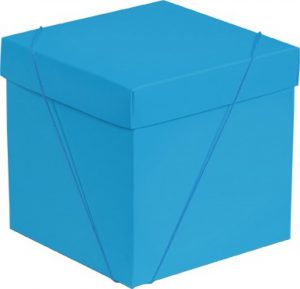 Caixa – Cubo – Cyan