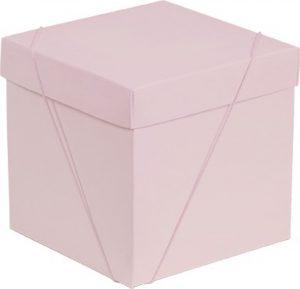 Caixa – Cubo – Rosa Bebê