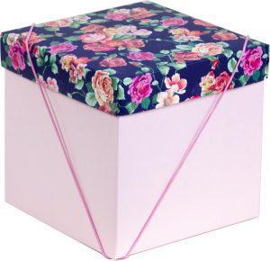 Caixa – Cubo – Floral Noturno