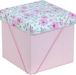 Caixa – Cubo – Floral Rose