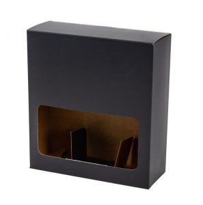 Drink Box – Preta – 3 Garrafas