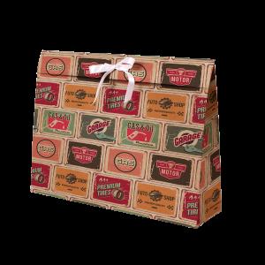 Premium Kraft – Placas Vintage – Sacola envelope com alça – G