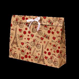 Premium Kraft – Parisiense Kraft – Sacola envelope com alça – G