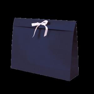 Premium Kraft – Kraft Azul – Sacola envelope com alça – G