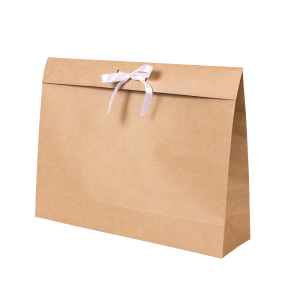 Premium Kraft – Kraft Natural – Sacola envelope com alça – G